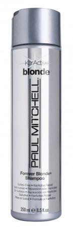 Paul Mitchell - Forever Blonde Shampoo - Színkiemelő, Szulfátmentes Sampon, szőke hajra, 250ml