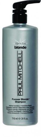 Paul Mitchell - Forever Blonde Shampoo - Színkiemelő, Szulfátmentes Sampon, szőke hajra, 710ml