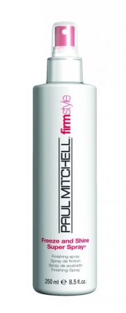 Paul Mitchell - Freeze and Shine Super Spray - Rögzítés és Csillogás Pumpás Hajlakk, 250ml