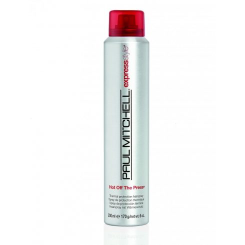 Paul Mitchell - Hot Off The Press Hairspray - Hővédő, Hajsimító, Formázó Spray, 200ml