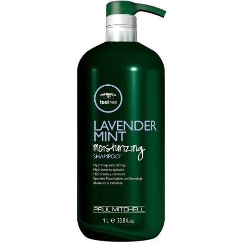 Paul Mitchell Tea Tree - Lavender, Mint Moisturizing Shampoo - Levendulás, Mentás Hidratáló Sampon, 1L