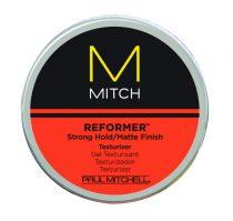 Paul Mitchell Mitch - Reformer - Strong Hold/Matte Finish Texturizer - Erős Tartású, Matt, Újraformázható Paszta, 85g