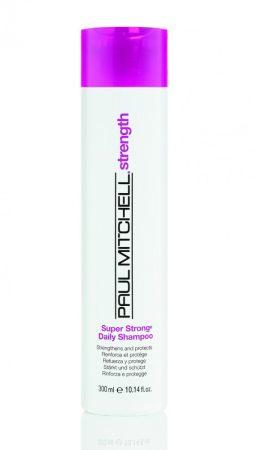 Paul Mitchell - Super Strong Daily Shampoo - Hajszerkezet Erősítő Sampon, 300ml