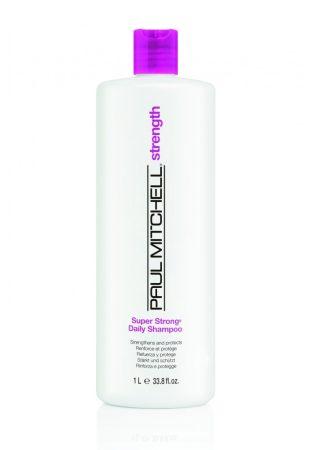 Paul Mitchell - Super Strong Daily Shampoo - Hajszerkezet Erősítő Sampon, 1L