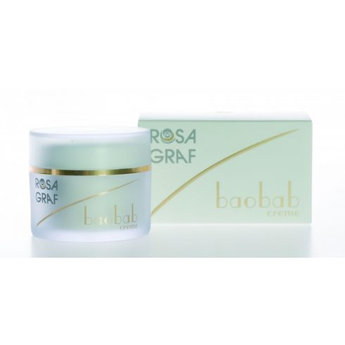 Rosa Graf - Baobab Light Creme - Baobab 24 Órás Light Krém Q10, 50ml