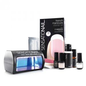 Sensationail  - Indulókészlet - French Manicure - Sheer Pink, 1db