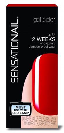 Sensationail - Gél Lakk - Scarlet Red, 7,39ml