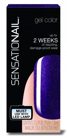 Sensationail - Gél Lakk - Purple Orchid, 7,39ml